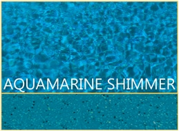 Aquamarine Shimmer Pool Color by Barrier Reef