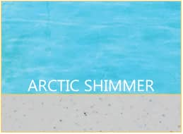Arctic Shimmer Pool Color by Barrier Reef