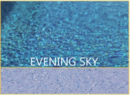 Evening Sky Pool Color by Barrier Reef