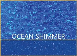Ocean Shimmer Pool Color by Barrier Reef