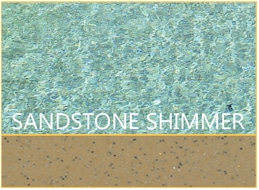Sandstone Shimmer Pool Color by Barrier Reef